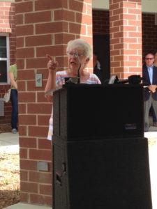 Arlene Flury, President of Vinegar Hill Neighborhood Association in Springfield, IL.
