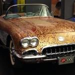Car art - hot rod — at National Corvette Museum - 4