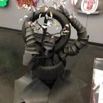 Car art - tire creature — at National Corvette Museum - 5