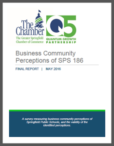Springfield Chamber: School District 186 Business Perceptions Report