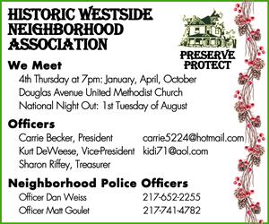2016 Holiday Party Sponsor - Historic Westside Neighborhood Association
