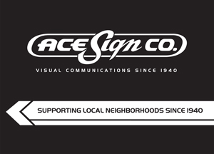 Holiday Party Sponsor - Ace Sign Co