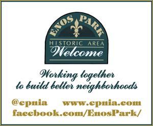 Holiday Party Sponsor - Enos Park Neighborhood Improvement Association.