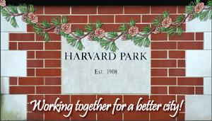 Holiday Party Sponsor - Harvard Park Neighborhood Association.