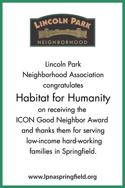 Holiday Party Sponsor - Lincoln Park Neighborhood Association.