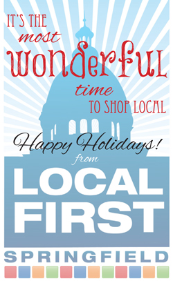 Holiday Party Sponsor - Local First Springfield.
