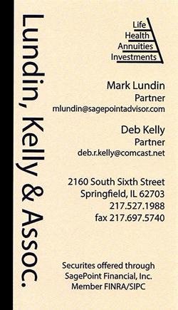 Holiday Party Sponsor - Lundin, Kelly & Associates.