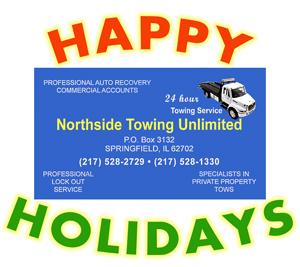 Holiday Party Sponsor - Northside Towing Unlimited.
