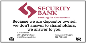Holiday Party Sponsor - Security Bank.
