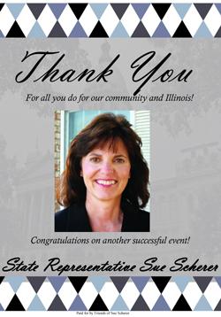 Holiday Party Sponsor - State Representative Sue Scherer.