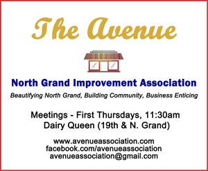 Holiday Party Sponsor - The Avenue - North Grand Improvement Association.