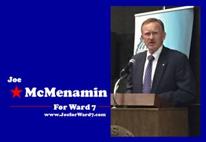 Holiday Party Sponsor - Ward 7 Alderman Joe McMenamin.