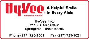 2016 Holiday Party Sponsor - HyVee Springfield Illinois