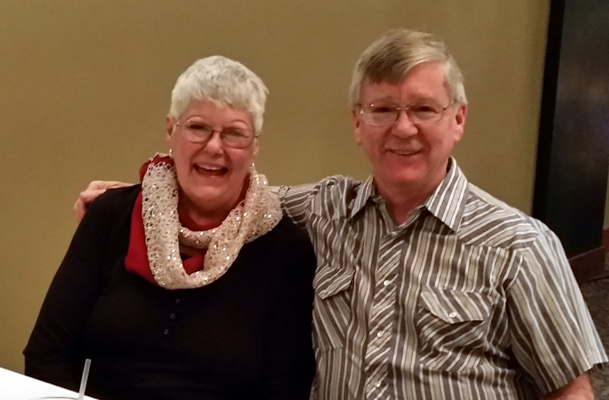 Sharon (City Council Chair) and Darrell Riffey (Treasurer)