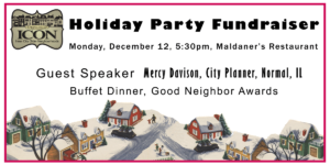 ICON Holiday Party and Annual Meeting Fundraiser 2016