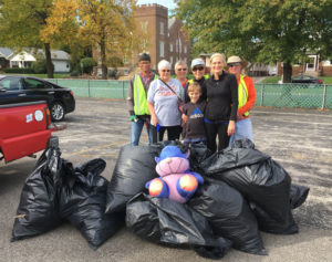Icon 11th Street Cleanup - 8 Big Bags!