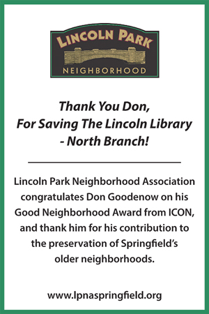2016 Holiday Party Sponsor - Lincoln Park Neighborhood Association