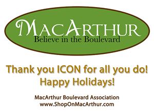 2016 Holiday Party Sponsor - MacArthur-Boulevard Association