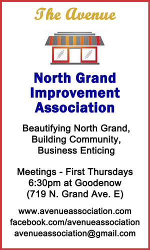 2016 Holiday Party Sponsor - The Avenue North Grand Improvement Association