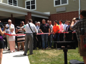 Villas at Vinegar Hill - Ribbon Cutting