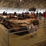 previously sunken corvettes — at National Corvette Museum
